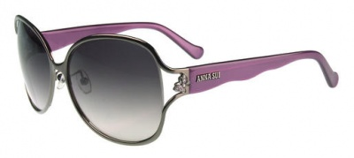 Anna Sui Sunglasses AS 826 986 Dark Gun