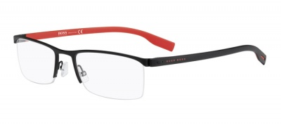 Hugo Boss 0610 Matte Black Red