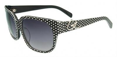 Christian Lacroix Sunglasses CL 5012 009 Noir Pois